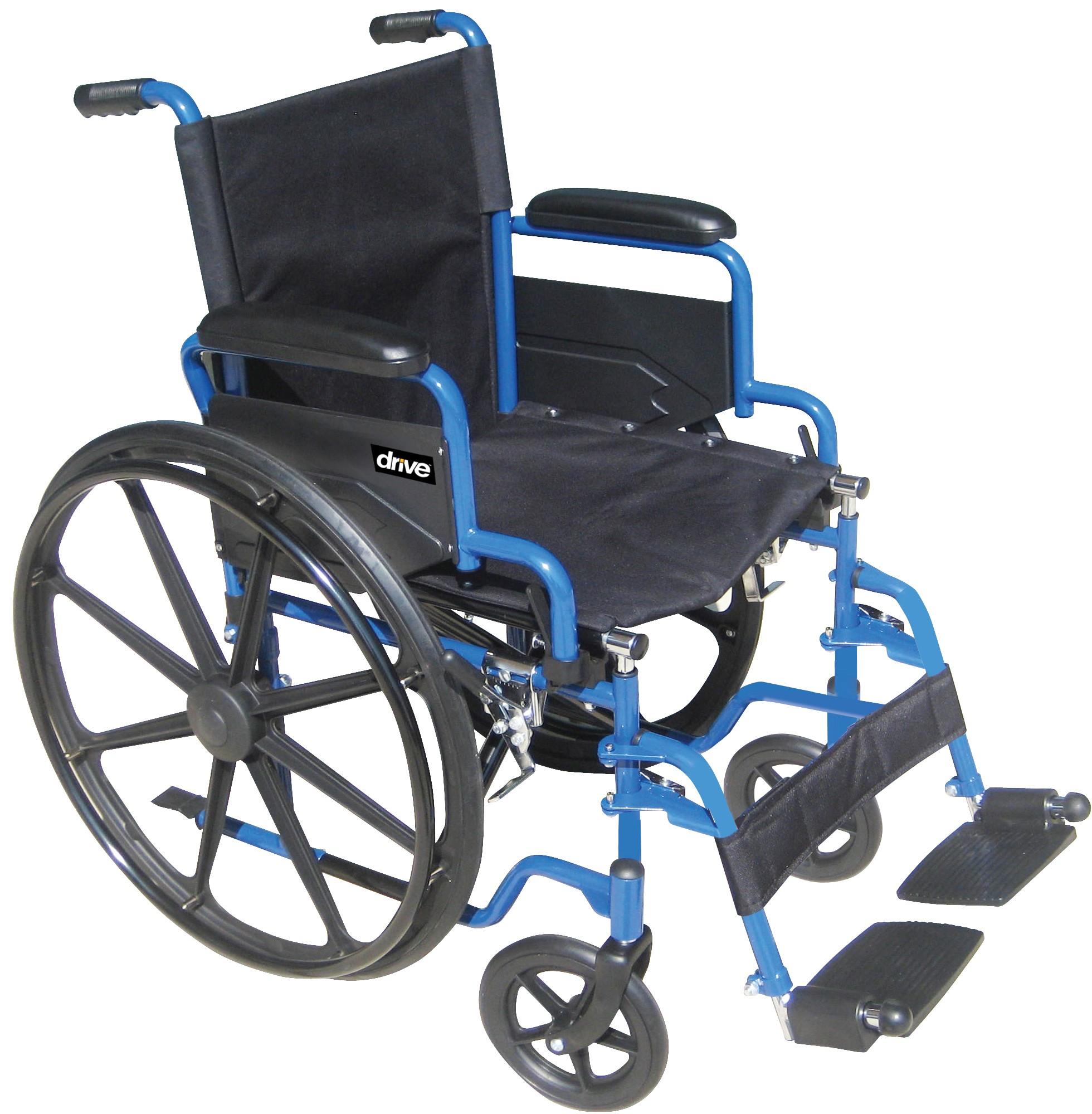 blue streak wheelchair orbit medical